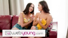 18yo Babysitter Interrupted by Horny BFF -WebYoung